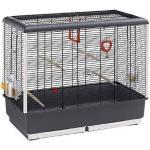 Ferplast Gabbia Per Uccelli Cage Piano 4 Open Black ( )