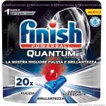 Finish Powerball Quantum Ultimate per Lavastoviglie - 20 Pastiglie