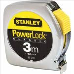 Flessometro PowerLock - 3 mt - larghezza nastro 12,7 mm - Stanley Quantita min. 1