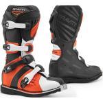 Forma Gravity Stivali Motocross, nero-arancione, dimensione 34