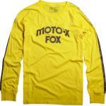 FOX Hall of Fame Longsleeve Camicia, giallo, dimensione S