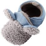 Scarpine grigie in pelle di camoscio antiscivolo per l'inverno per Natale primi passi