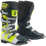 Gaerne SG-J Stivali Motocross della gioventù, nero-bianco-giallo, dimensione 38