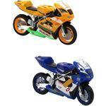 Generic Simulato In Lega Moto Modello Da Corsa Di Arretramento Modellino Moto con Suoni, Colore Casuale