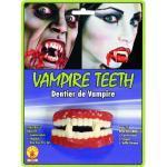 Generique - Dentiera Vampiro in gommaDentiera Vampiro in Gomma Taglia Unica