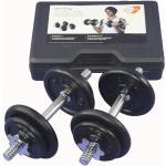Get Fit 20 kg Weight Set + Plastic Box - manubri fitness