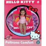 giochi preziosi 08238 poltrona gonfiabile confort hello kitty 104 x 104