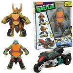Giochi Preziosi Teenage Mutant Ninja Turtles Deluxe Action Figure