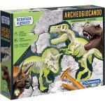 Gioco Scientifico Clementoni Archeogiocando T-Rex & Triceratopo