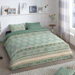 Good Morning Copripiumino PITRI 200x200/220 cm Verde