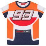 GP-Racing 93 Replica Leather Suit MM93 T-Shirt per bambini, multicolore, dimensione 2 - 3