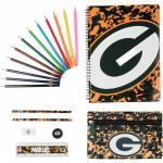 "Green Bay Packers NFL Ultimate Set di materiale scolastico STNFLCMULTMGP"""