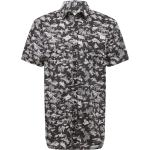 GUESS Camicia 'COLLINS' nero / bianco