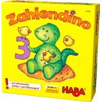 HABA 4928 - Il Dinosauro dei Numeri, Gioco Memory [Importato dalla Germania]