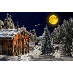 hansepuzzle 30814 Natura - Paesaggio Invernale, 2000 Pezzi in Scatola di Cartone di Alta qualità, Puzzle in Busta richiudibile