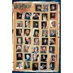 Harry Potter - Characters - Poster - Unisex - multicolore