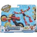 Hasbro Avengers Bend And Flex Ironman Con Veicolo Snodabile Action Figure