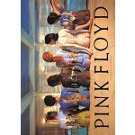 Heart Rock Bandiera Originale Pink Floyd Back Catalogue, Tessuto, Multicolore, 110x75x0.1 cm