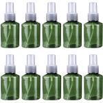 Herbests 10 Pezzi 50 ml Bottiglie Spray Vuoto, Flacone Spray Trasparente in Plastic Flacone Spray Vuoto Travel Spray Bottiglie Bottiglie Spray di Acqua di Trucco
