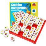 Herefun Gioco da Tavolo Sudoku alla Frutta, Sudoku Logico Giocattoli da Tavolo Puzzle Educativi, Sudoku Divertente Giochi da Tavolo Educativi, Regali per Bambini Ragazzi e Ragazze dai 3-9 Anni