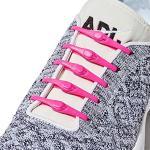 HICKIES Tie Free Laces - Lacci Senza Allacciatura - Rosa Neon