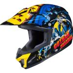 HJC CL-XY II Batman DC Comics Casco Motocross Giovani, multicolore, dimensione S