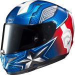 HJC RPHA 11 Captain America Marvel casco, bianco-rosso-blu, dimensione 2XL