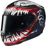 HJC RPHA 11 Venom II Marvel casco, nero-bianco-rosso, dimensione L