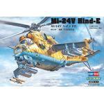 Hobby Boss 87220 - Modellino da Costruire, Elicottero d'attacco sovietico Mi-24V Hind-E