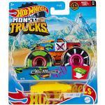 Hot Wheels- Monster Truck Veicolo a Sorpresa in Scala 1:64 con Ruote Giganti, da Collezione, Giocattolo per Bambini 3+Anni, FYJ44