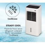 IceWind raffrescatore evaporativo 4 in 1 222 m³/h 36,5W timer telecomando bianco