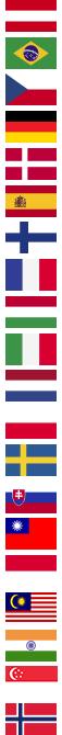 flag at