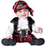 in Character cap N Stinker Costume da Bambini, Pirata, 18 a 24 Mesi