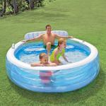 Intex Piscina Gonfiabile per Famiglia Swim Center 57190NP
