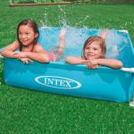 Intex Piscina Mini Frame 122x122x30 cm 57173NP