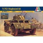 Italieri Modellino Carro Armato T17E2 Staghound AA Scala 1:35