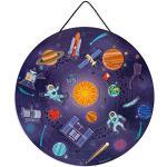Janod - Mappa Magnetica Del Sistema Solare - Gioco Educativo in Legno - Dall'Età di 7 Anni, J05462