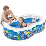 Jilong Figure 8 Pool - Grande Piscina per Bambini con Divertenti Animali marini, per Bambini da 6 Anni, 175x109 cm