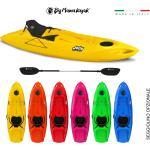 Jolly big mama kayak - canoa da 260 cm + 1 gavone + 1 pagaia ( pack 1)( made in italy)