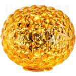 Kartell Planet Lampada da tavolo LED, giallo
