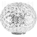 Kartell Planet Lampada da tavolo LED, traslucido chiaro