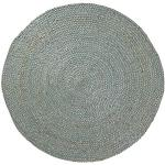 Kavehome - Tappeto mod. Doc, colore: Blu, diametro: 150 cm