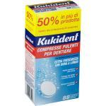 Kukident Compresse Pulenti Per Dentiere 88 pz Compresse