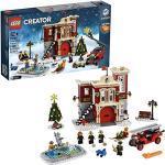 LEGO 10263 Creator Expert Winter Village Fire Station, Stazione dei vigili del fuoco per bambini