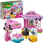 LEGO DUPLO Disney La Festa di Compleanno di Minnie, Set con Gatto e Topo, Automobilina e Torta, Grandi Mattoncini Numerati, Giocattoli Educativi per Bambini di Età Prescolare 2-5 Anni, 10873