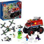 LEGO Super Heroes Marvel Monster Truck di Spider-Man vs. Mysterio, Camion Giocattolo per Bambini con Minifigure, 76174