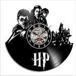 LittleNUM Record di Vinile Orologio da Parete Orologio da Parete Orologio di Parete Creativo Soggiorno Orologio da Parete Harry Potter Registra Serie