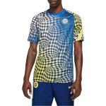 Magliette Nike Chelsea FC Men s Dri-FIT Pre-Match Soccer Top cw4872-409 Taglie XXL