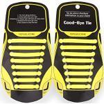 Marol, lacci elastici in silicone – senza legature – Lacci in silicone – ricambio per scarpe – lacci per tutte le scarpe – bambini e adulti