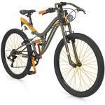 MBM 406/18 Jump, Fat Bike da Montagna Unisex Bambini, Verde Militare A42, Taglia Unica